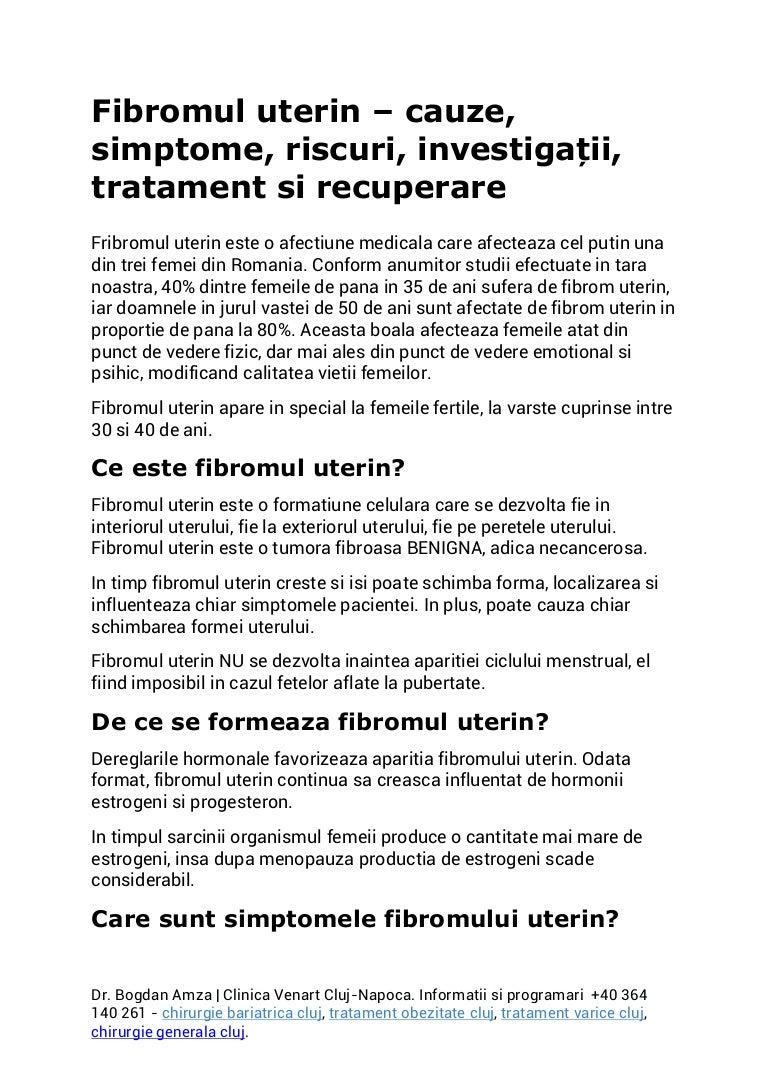 Cancerul Uterin Endometrial | Centru Oncologie Severin