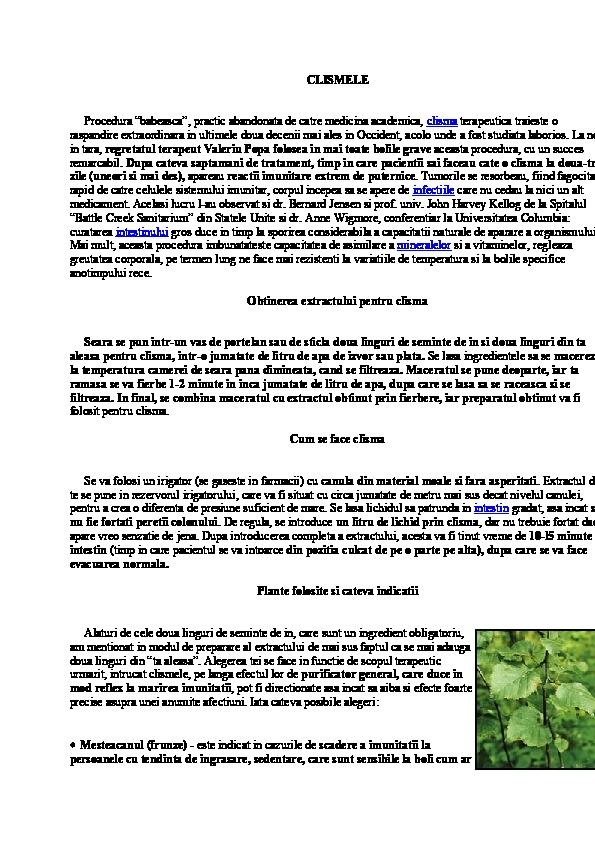 Viermisori la Copii-3 Tratamente Naturiste ghise-ioan.ro
