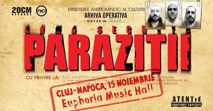 Parazitii vin joi in Euphoria Music Hall