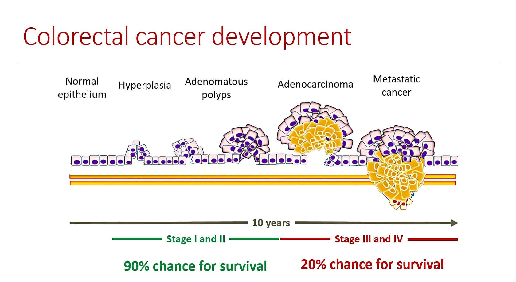 cancer rectocolon enterobiasis sintomas y tratamiento