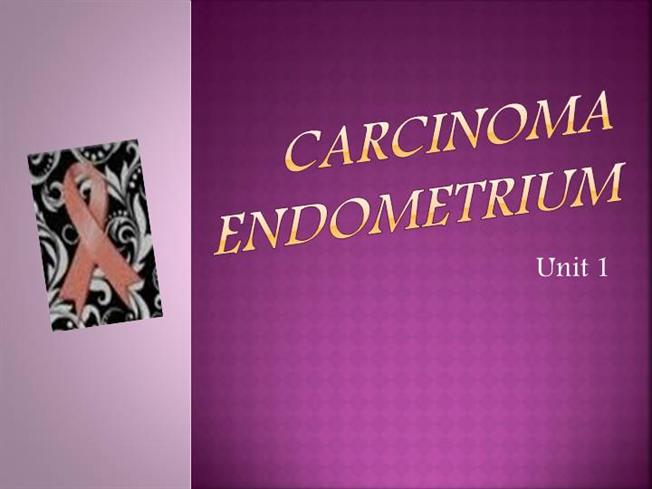 endometrial cancer powerpoint presentation