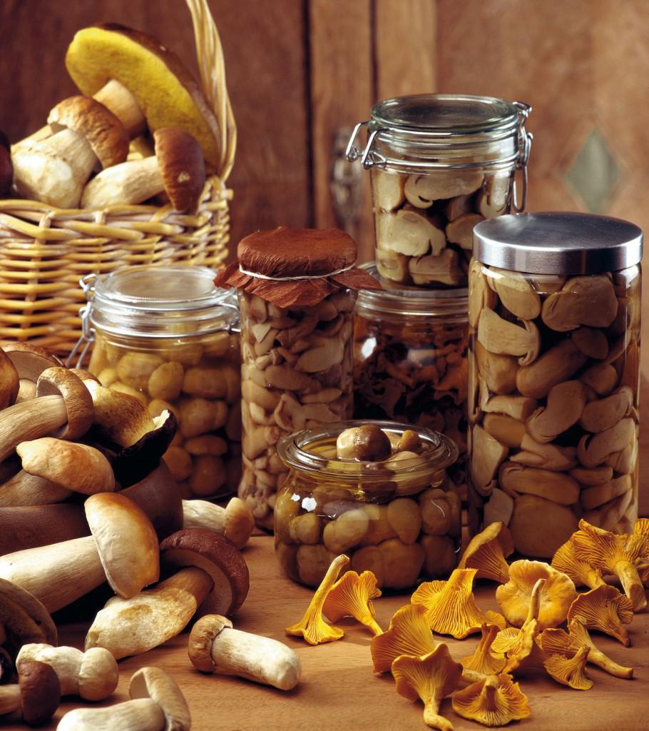 ciuperci in otet