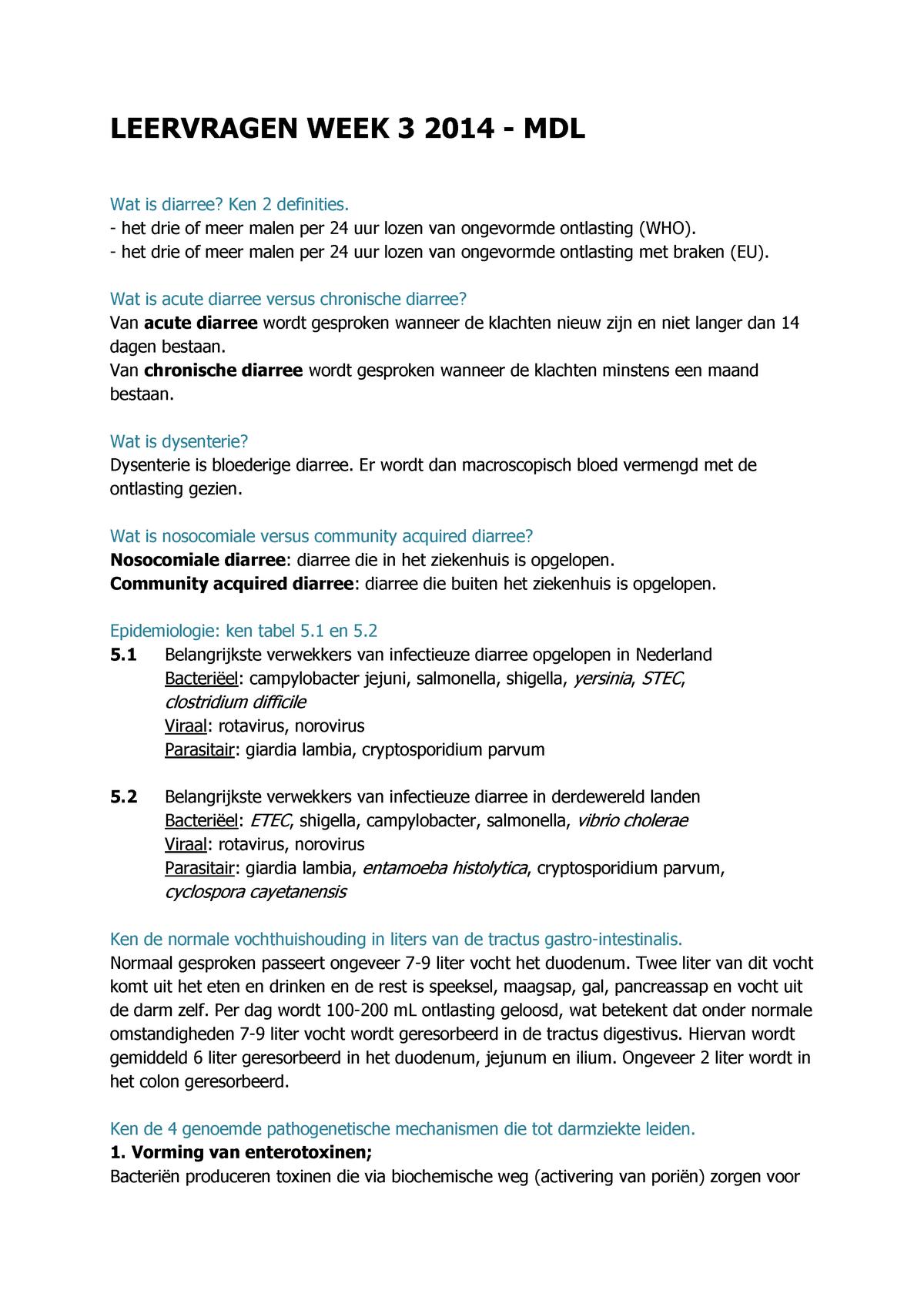 4 dagen diarree vaccino papillomavirus eta