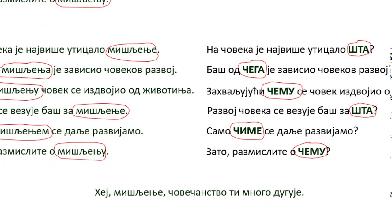 padezi srpski vezbe papillomavirus smear test