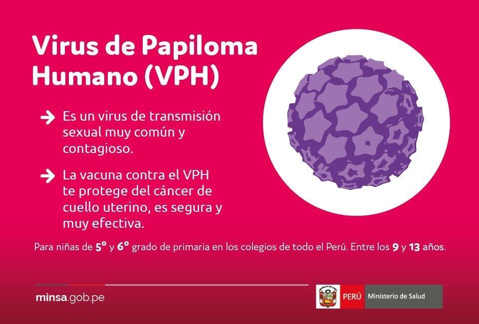 papiloma humano vacuna peru
