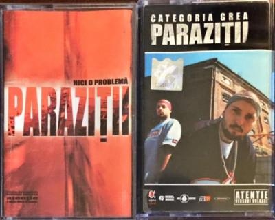 parazitii categoria grea album