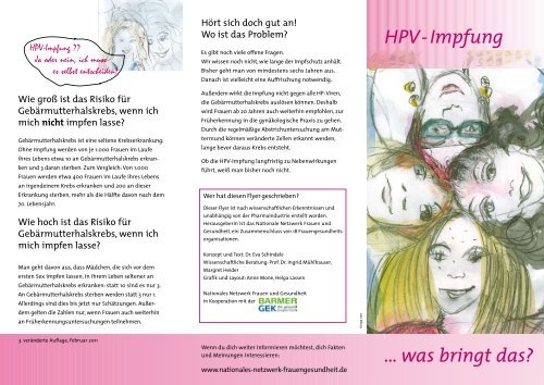 hpv impfung auffrischung