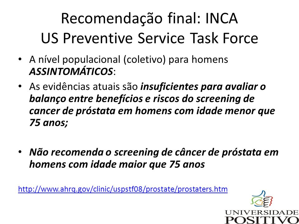 cancer de prostata rastreamento human papillomavirus infection medscape