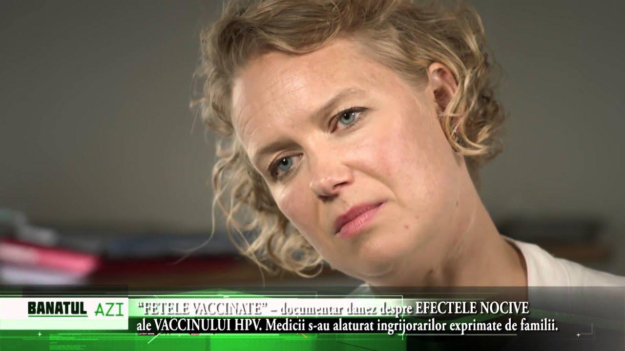 vaccin cancer de col uterin reactii adverse