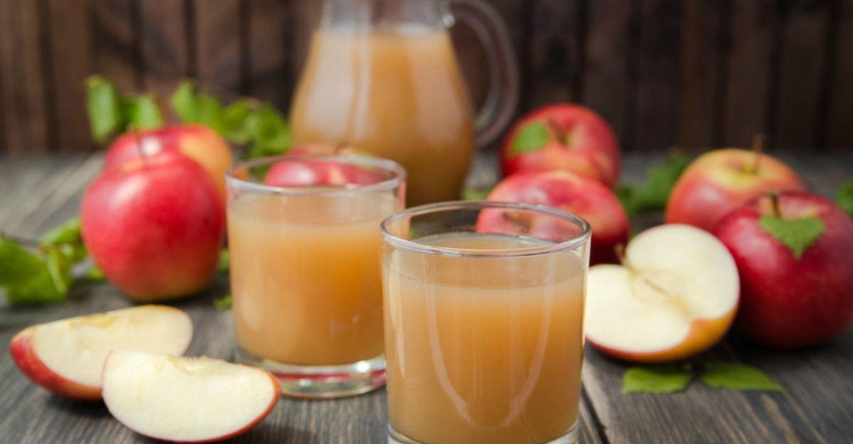 Sucul de mere in cura de detoxifiere a ficatului