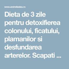 Cea mai buna metoda de detoxifiere a colonului