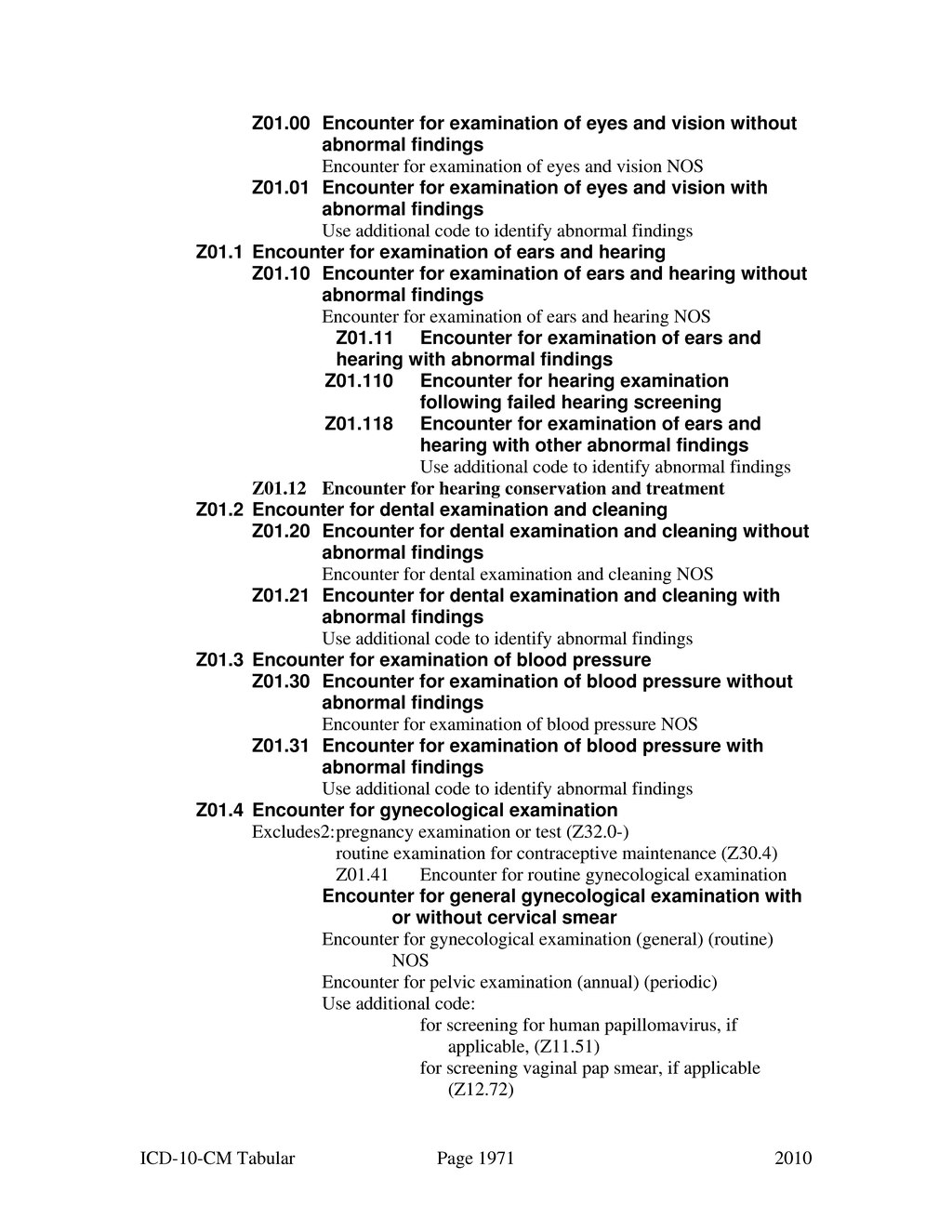 icd 10 for human papilloma