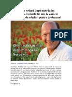 Excesul ponderal şi curele de slăbire – dr. Călin Mărginean