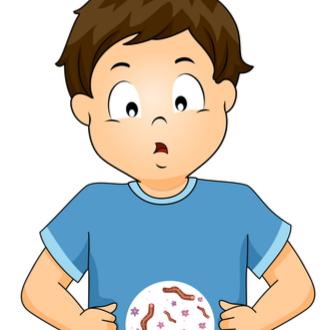 paraziti bebelusi simptome