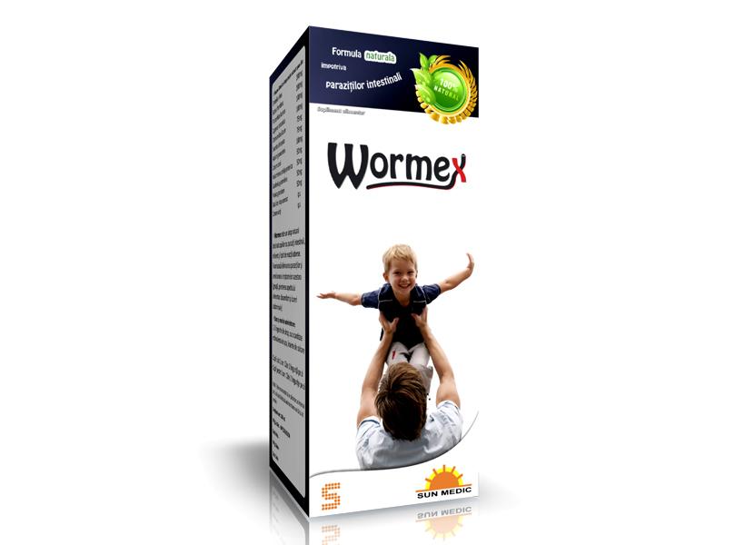 Wormex Sirop ml - SUN WAVE PHARMA