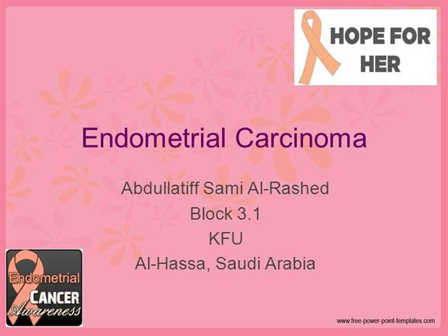 uterine cancer ppt presentation hpv herpes be