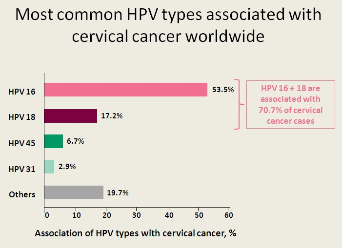 hpv cervical cancer types anemie 9 7