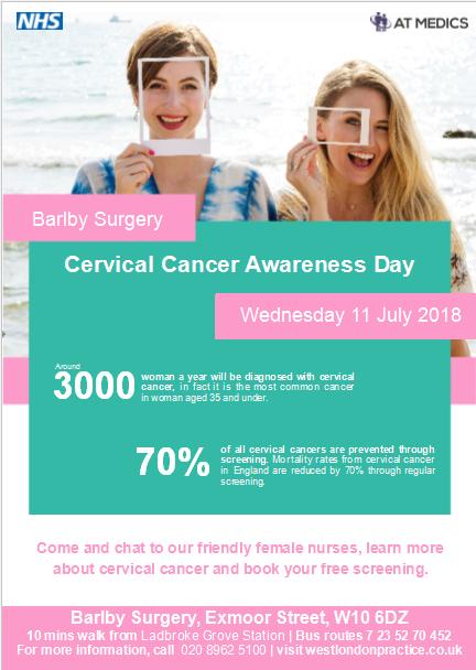 cervical cancer nhs
