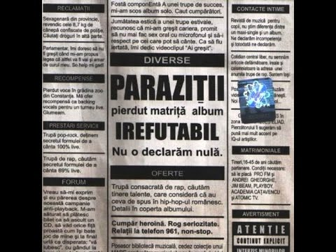Songtext von Paraziții - Praf Lyrics