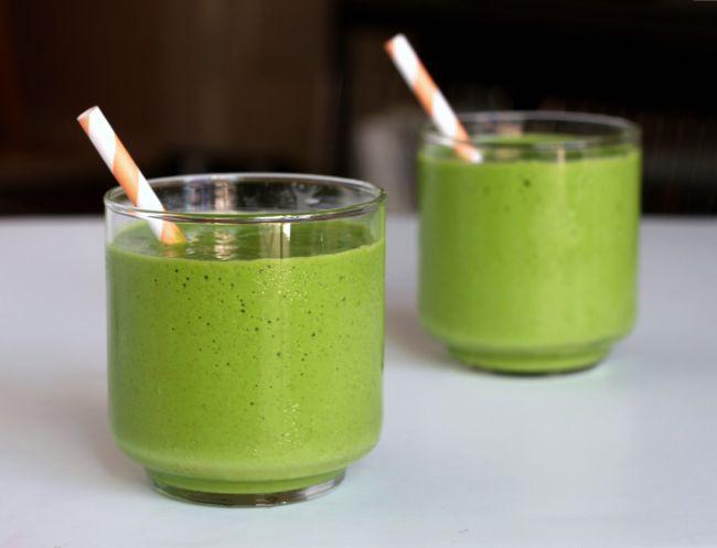 smoothie verde detoxifiant retete