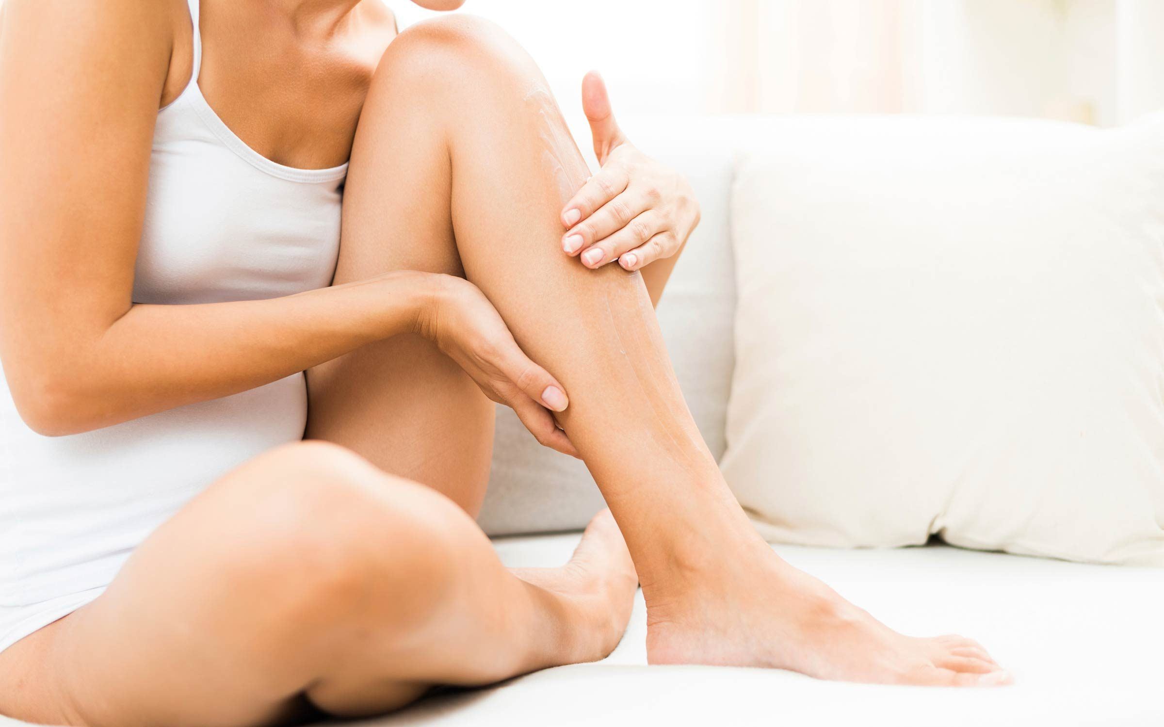 cervical cancer and leg pain