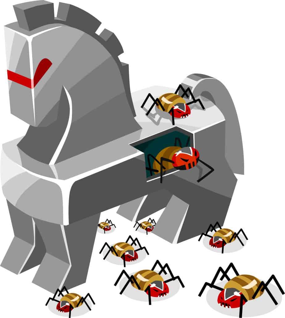 virusi trojan