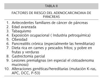 cancer de pancreas localmente avanzado