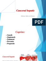 cancerul hepatic definitie