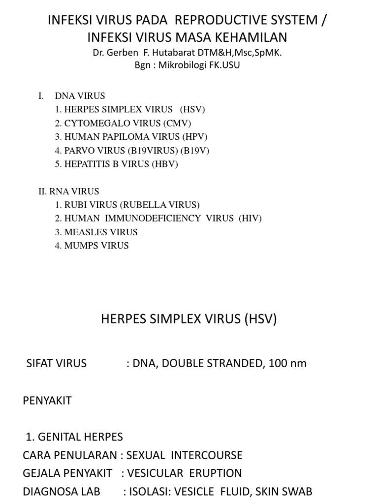 cara penularan virus papiloma