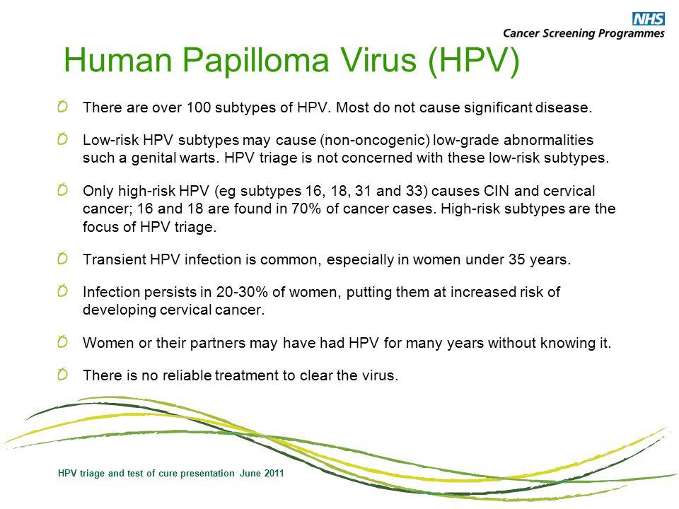 papilloma virus nhs
