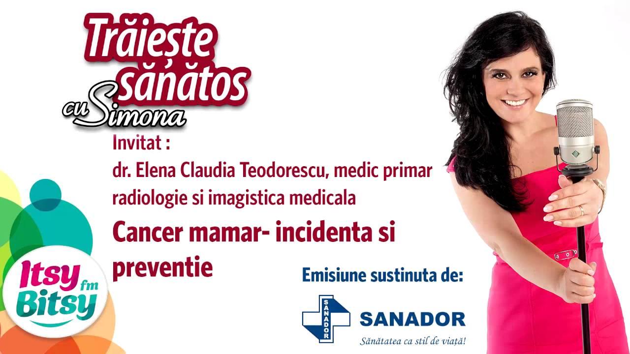 cancer mamar incidenta