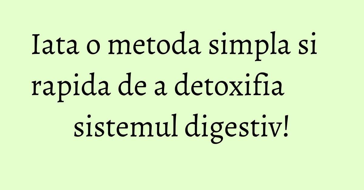 detoxifiere colon cu apa sarata