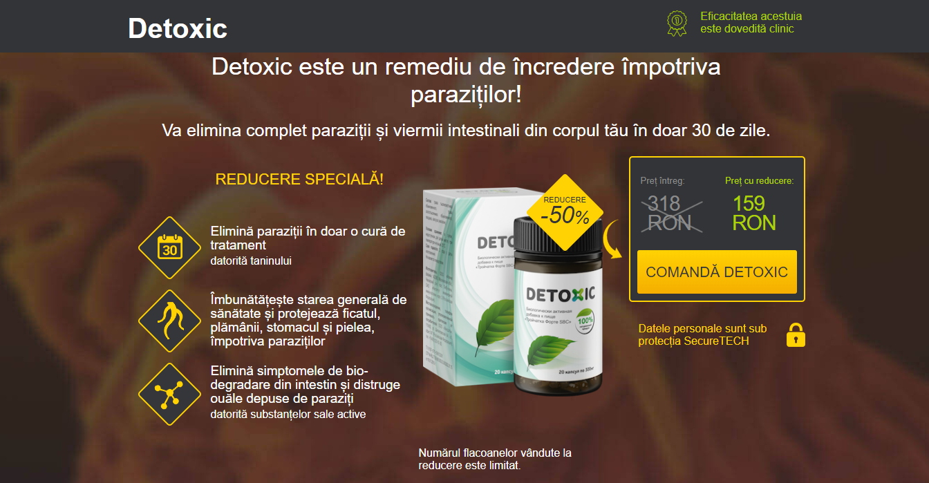 detoxifiere dupa medicamente