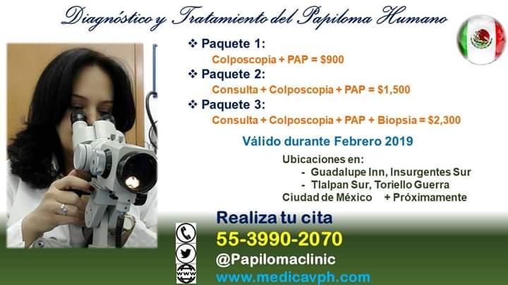 papiloma humano diagnostico y tratamiento