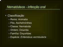 Histeroscopie și viermi