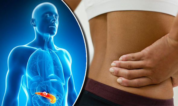 pancreatic cancer back pain