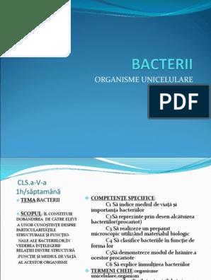 bacterii unicelulare detoxifierea ficatului la copii