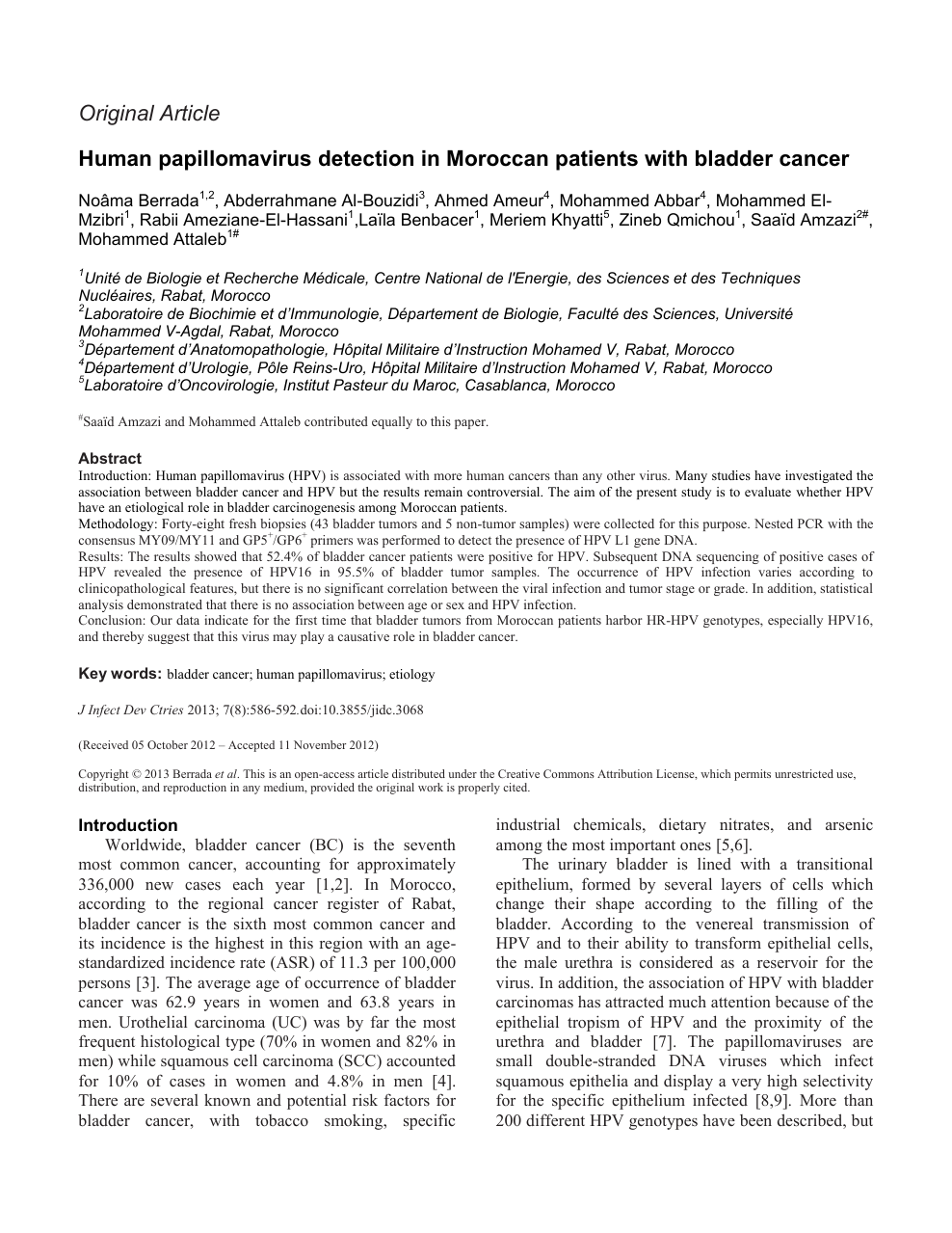hpv bladder cancer