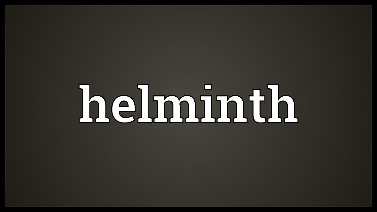 helminthic meaning in hindi