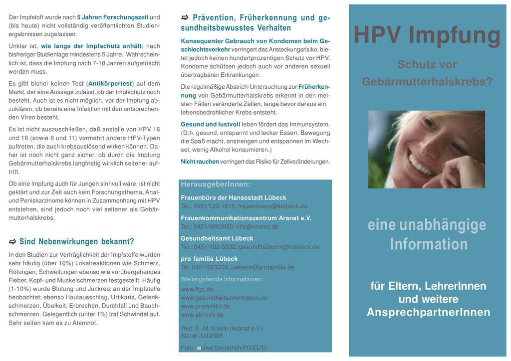 hpv impfung erwachsene krankenkasse hpv vaccine jb
