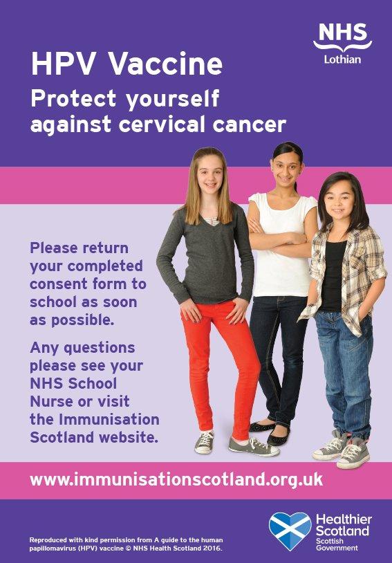 hpv vaccine nhs scotland