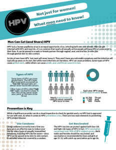 hpv virus test for males