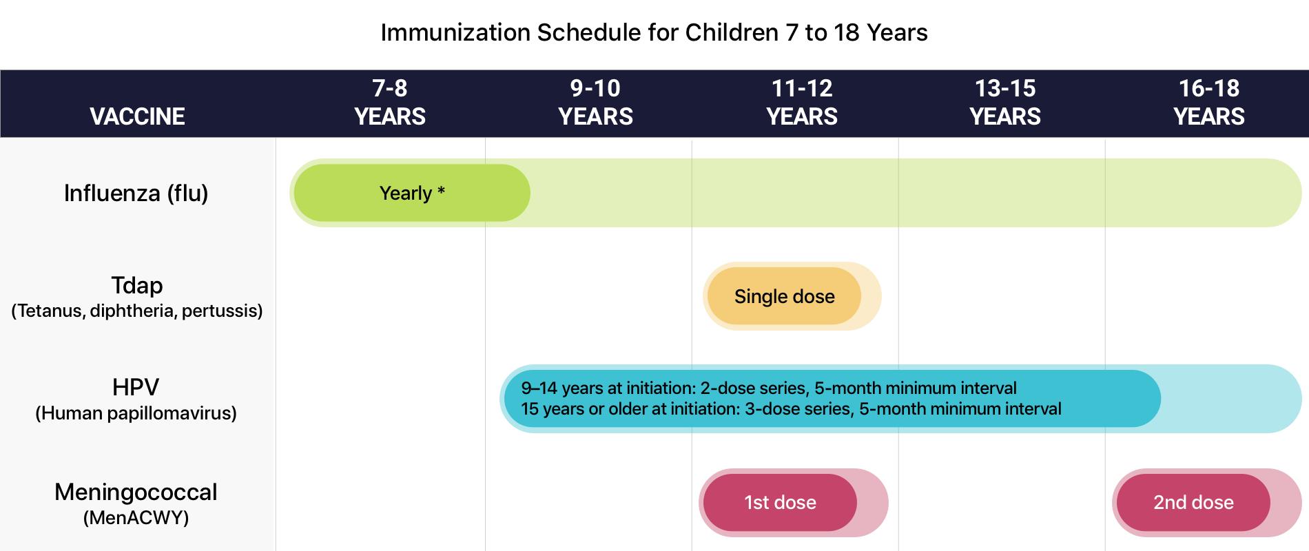 hpv virus vaccine schedule vaccination papillomavirus femme