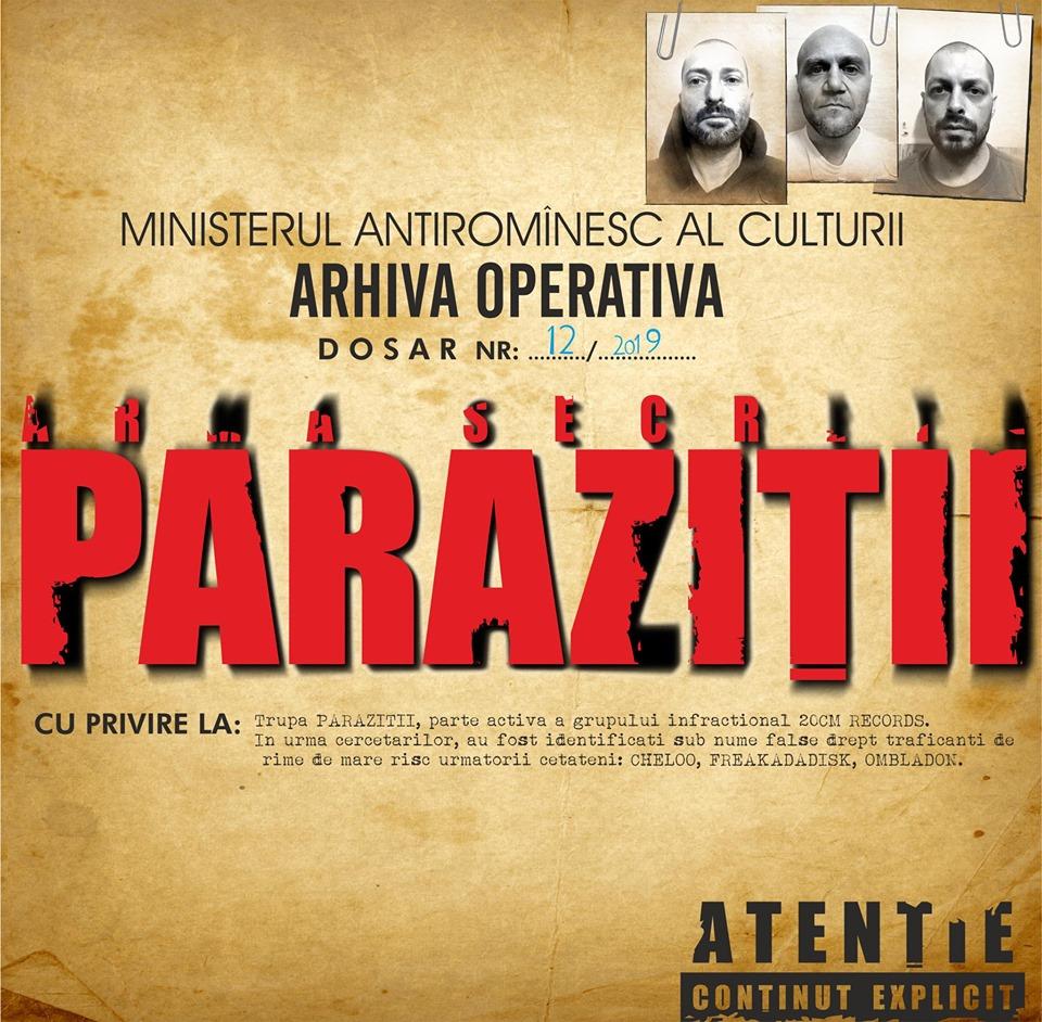 Magazin oficial 20cm records / Parazitii