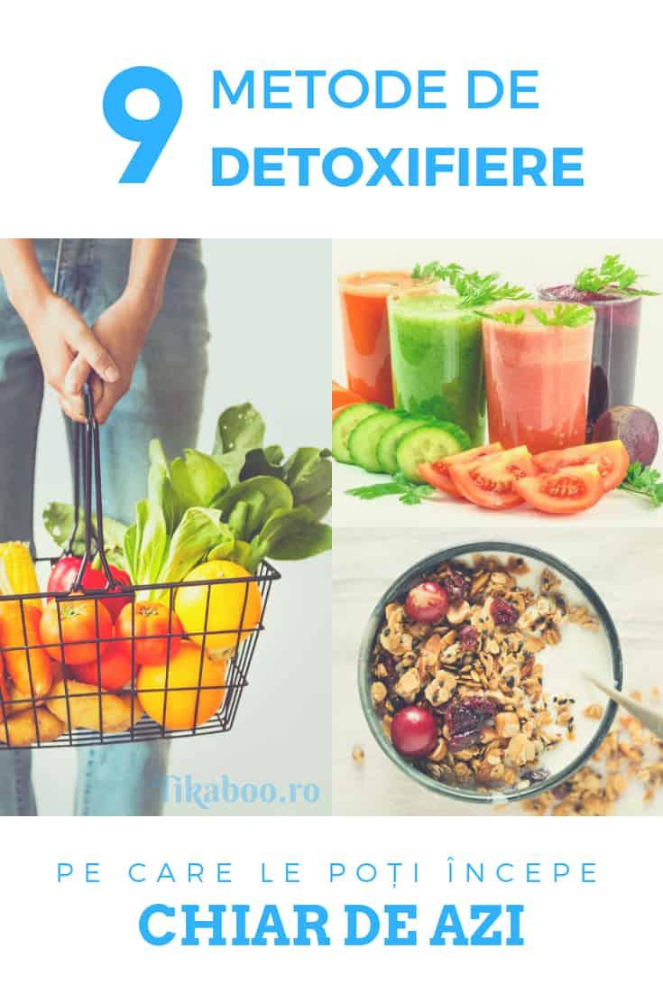 metode de detoxifiere