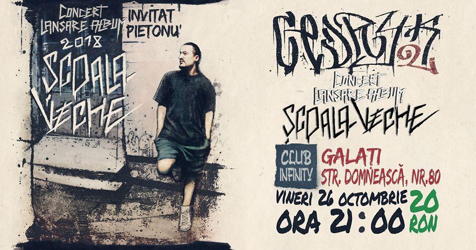 9 Octombrie - Concert Parazitii- Galati – club S