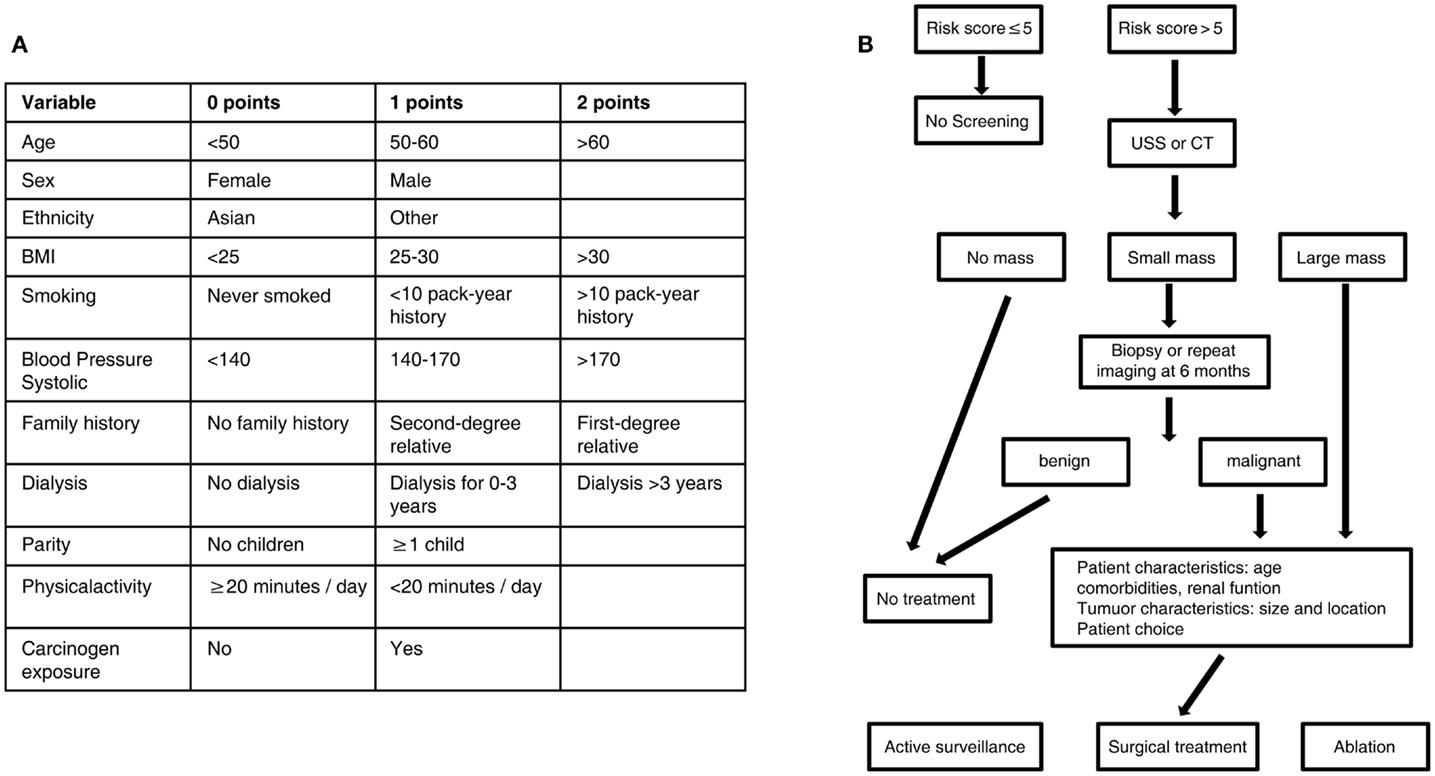 renal cancer screening