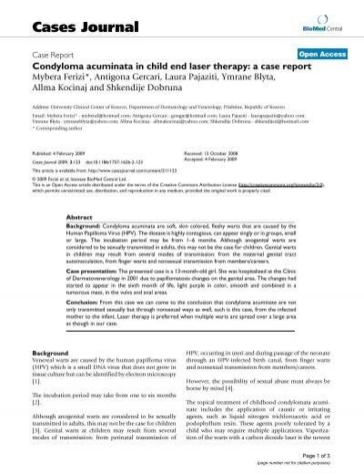 condyloma acuminata mode of transmission hpv warzen bekampfen