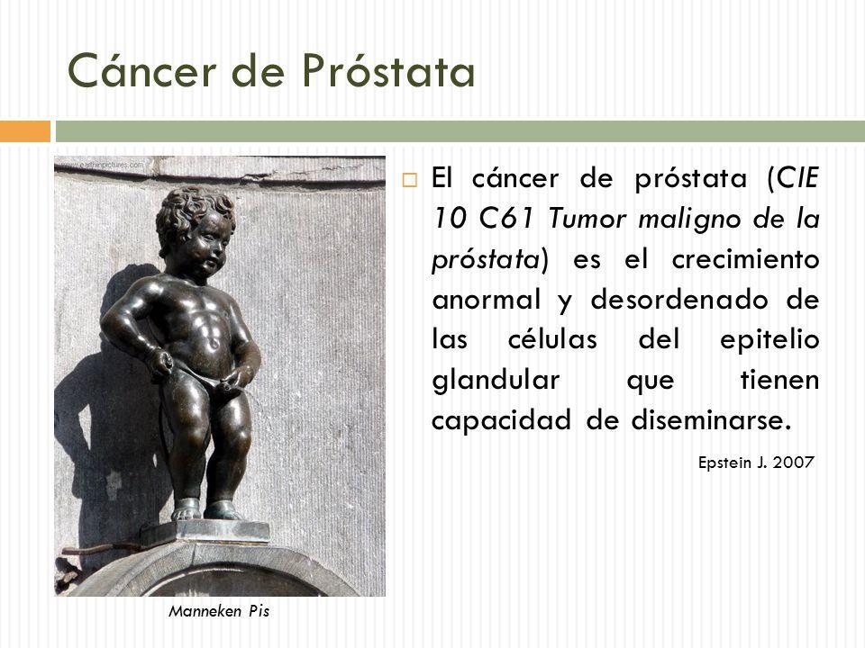 crecimiento del cáncer de próstata