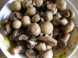 ciuperci in oțet
